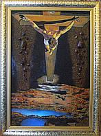 """Картина из янтаря Сальвадор Дали """"Христос Святого Иоанна Креста"""""""