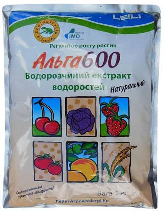 Регулятор роста Alga 600 / Альга 600 (1 кг) - биологический регулятор роста широкого спектра применения, фото 2