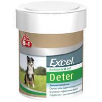 Витамины для отучения собак и щенков от поедания фекалий 8in1 Excel Deter 8в1  Эксель Детер 100 табл.