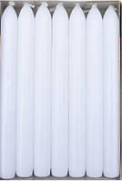 Свеча белая столовая 20 см 1 шт, фото 1