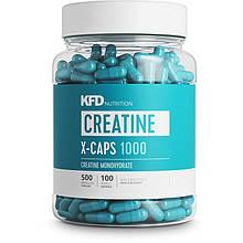 Креатин в капсулах KFD CREATINE-X 1000 CAPS 500 капсул