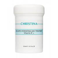 Christina Delicate Hydrating Day Treatment + Vitamin E - Деликатный увлажняющий дневной крем с витамамином Е 250мл