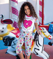 Комплект футболка и капри для девочки BERRAK 6530