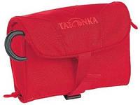 Яркая сумка Mini Travelcare для туалетных принадлежностей 0,9 л Tatonka TAT 2816.015, цвет Red (красный)