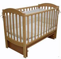 Детская кроватка Верес Соня ЛД 10  маятник (бук)