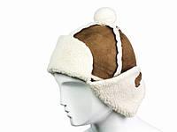 Зимняя шапка ушанка мужская