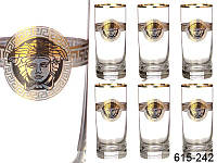Набор стаканов для воды Nb Art Медуза 6 штук 615-242