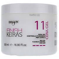Dikson Keiras Finish Gel Flexible Control Гель сильной фиксации -гибкий контроль и блеск.