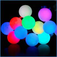 """Світлодіодна гірлянда """"Кульки"""" 40 ламп(LED) RGB, вулична"""