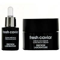 Ericson Laboratoire Fresh Caviar Revival  Night Treatment Night Cream+Serum Набор Ночной Восстанавливающий Крем 50 мл+ Сыворотка для лица 15 мл