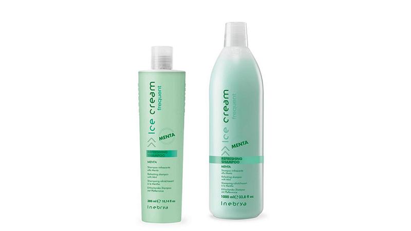 INEBRYA Frequent Refreshing - шампунь освежающий с мятой 300 мл.