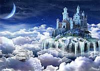 Фотообои  на стену Волшебный замок размер 196 х 272 см