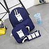 """Стильный рюкзак для молодежи """"Котики"""", фото 3"""