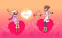 Печать съедобного фото - А4 - Сахарная бумага - День Св. Валентина №15