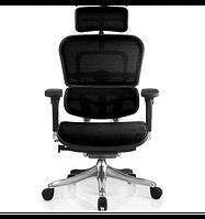 Expand  Кресло компьютерное ERGOHUMAN PLUS эргономичное, натуральная кожа черного цвета, фото 1