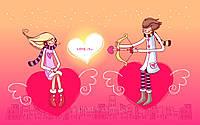 Печать съедобного фото - А4 - Вафельная бумага - День Св. Валентина №15