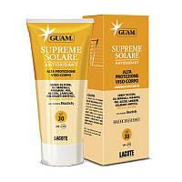Guam Сонцезащитный крем с антиоксидантным действием SPF 30 150мл