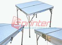 Стол складной с отверстием под зонтик (86*80,5*69) YJCZ-14