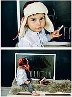 Зимняя шапка + рукавицы для мальчика DEMBO HOUSE (ДембоХаус) 220bf5ae1bd8b