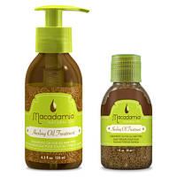 Macadamia Уход восстанавливающий с маслом арганы и макадамииMacadamia Healing oil treatment-300мл