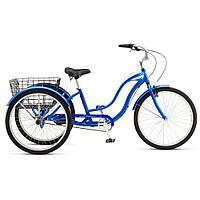 "Велосипед 26"" Schwinn Town&Country 2017 blue SKD-12-76"