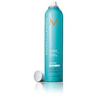 Moroccanoil сияющий лак для фиксации волос