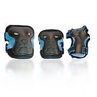 Защита для роликов детская DEFENSE голубая
