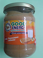 Арахисовая паста (масло) с белым шоколадом.  ТМ «Good Energy», 460 г