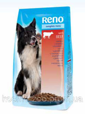 Сухой корм для собак Рено (Reno, Венгрия), со вкусом говядины, 10 кг