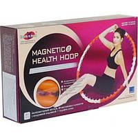 Обруч массажный антицеллюлитный Хула Хуп New Magnetic Health Hoop II
