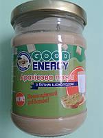 Арахисовая паста (масло) с белым шоколадом. ТМ «Good Energy», 250 г