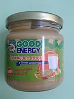Арахисовая паста (масло) с белым шоколадом.  ТМ «Good Energy», 180 г