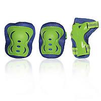 Защита для роликов детская G-FORCE BOY зеленая M