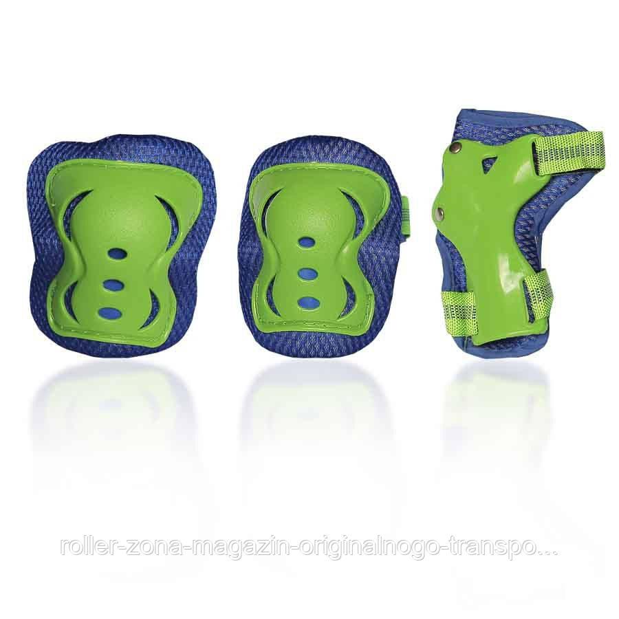 Защита для роликов детская G-FORCE BOY зеленая
