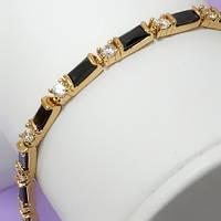 Новинки - Позолоченные браслеты с камнями
