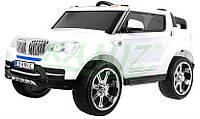 Детский двухместный электромобиль BMW EVA колеса, дитяий електромобіль bmw