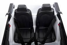 Детский двухместный электромобиль BMW EVA колеса, дитяий електромобіль bmw, фото 3