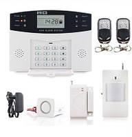 Проводная GSM сигнализация с клавиатурой для дома и дачи, гаража 7 зон