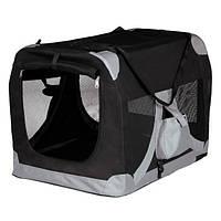Сумка-переноска Trixie T-Camp de Luxe для кошек, 50х35х35 см, фото 1