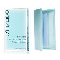 Shiseido Pureness Салфетки очищающие Shiseido Pureness Oil-Control Blotting Paper