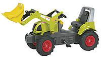 Rolly toys Трактор педальный с ковшом Rolly farm trac CLaas Arion 640 зеленый