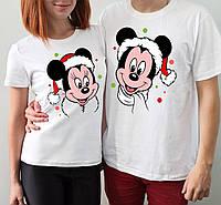 """Парные футболки """"Микки маусы"""""""