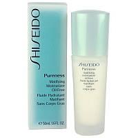 Увлажняющий и матирующий флюид для лица Shiseido Pureness Matifying Moisturizer Oil-free Fluid
