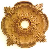 Декоративный  деревянный элемент «Розетка»