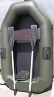 Резиновая, гребная надувная лодка ANVI 190 1 местная,резиновые лодки, надувные лодки, насосы, весла, лодки РИБ