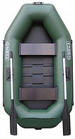 Резиновая, гребная надувная лодка ANVI 245 L 2 местная,резиновые лодки, надувные лодки, насосы, весла, лодки
