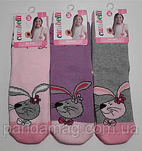 Носки детские для девочки махровые ароматизированные р.18-20