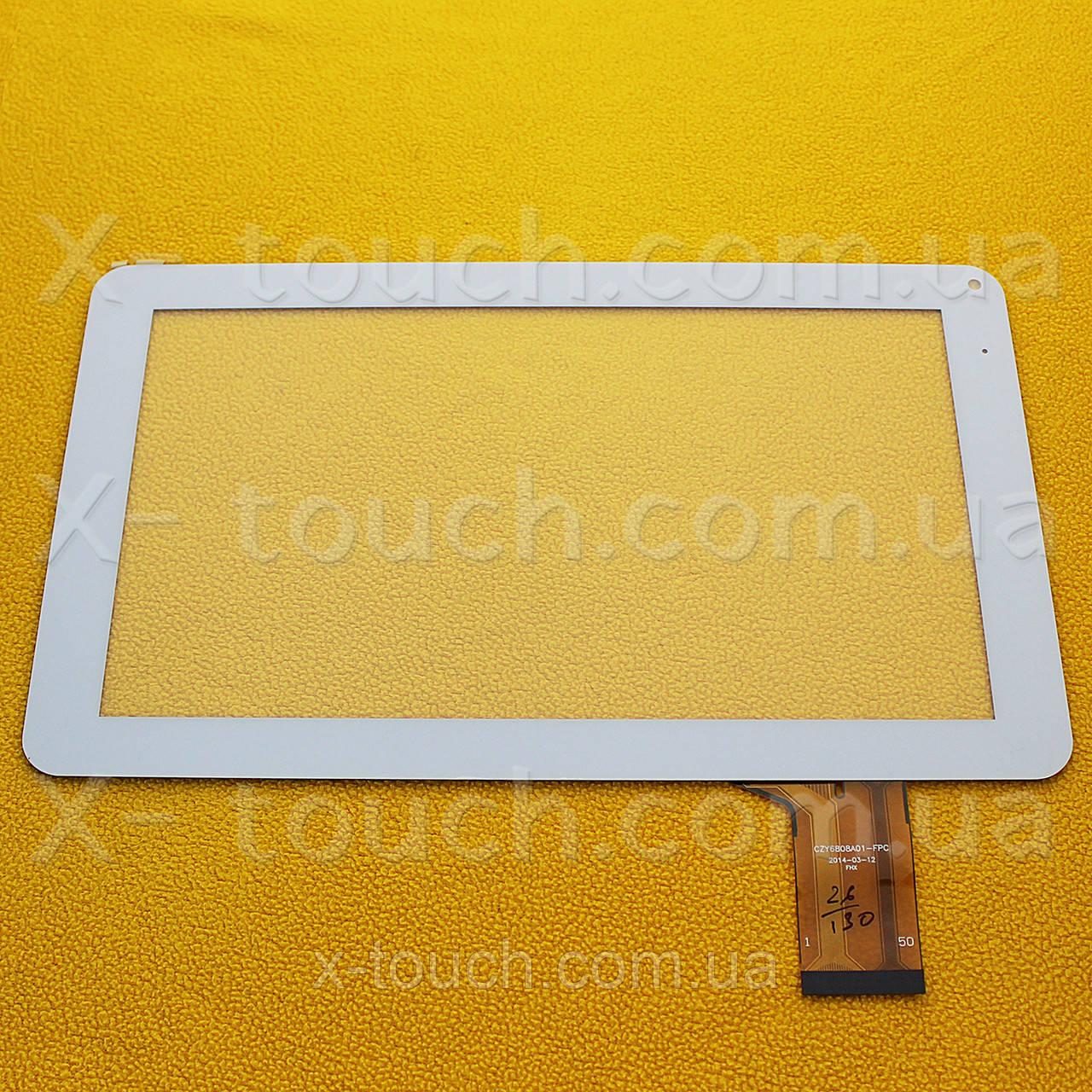 Тачскрин, сенсор  CZY6808A01-FPC белый  для планшета