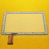 Тачскрин, сенсор  CZY6808A01-FPC белый  для планшета, фото 2
