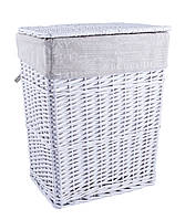 Корзина для белья плетеная с крышкой Vera L AWD02241215